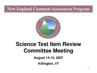 New England Common Assessment Program