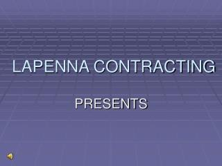 LAPENNA CONTRACTING
