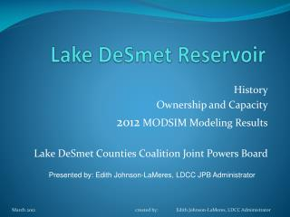 Lake DeSmet Reservoir