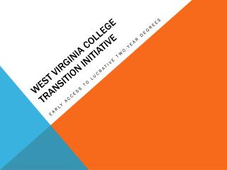 West Virginia College Transition Initiative