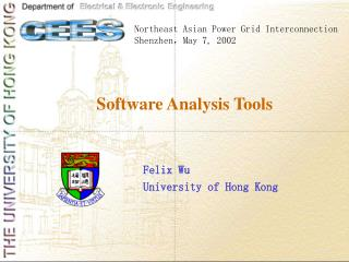 Software Analysis Tools