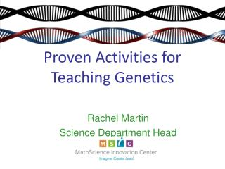 Proven Activities for Teaching Genetics