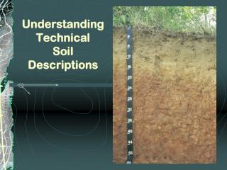 Understanding Technical Soil Descriptions