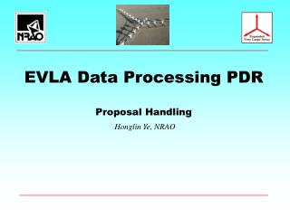 EVLA Data Processing PDR Proposal Handling