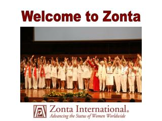 Welcome to Zonta