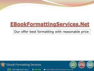 EBookFormattingServices.Net