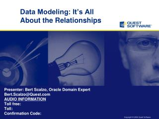 Data Modeling: It's All About the Relationships