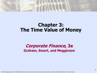 Chapter 3: The Time Value of Money