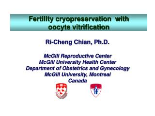 Fertility cryopreservation  with  oocyte vitrification