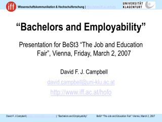 """Bachelors and Employability"""