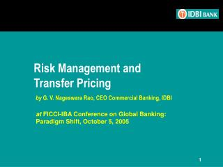 Risk Management and Transfer Pricing