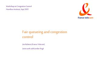 Fair queueing and congestion control