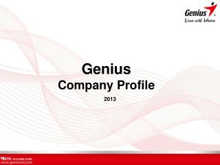 Genius Company Profile