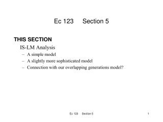 Ec 123     Section 5
