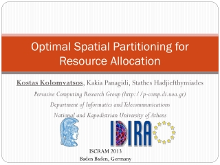 Optimal Spatial Partitioning for Resource Allocation