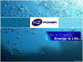 KZ POWER is one of the Leading Manufacturer and  Supplier of  Energy  and  Industrial
