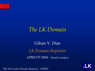 The LK Domain
