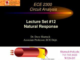 ECE 2300 Circuit Analysis