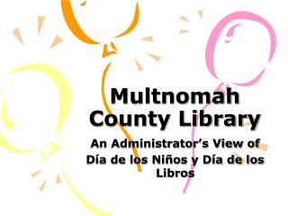 Multnomah County Library