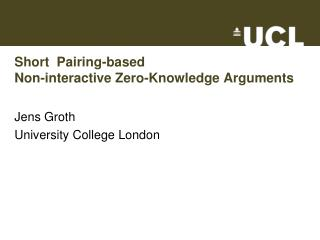 Short  Pairing-based Non-interactive Zero-Knowledge Arguments