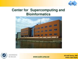 Center for  Supercomputing and Bioinformatics