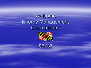 Welcome Energy Management Coordinators