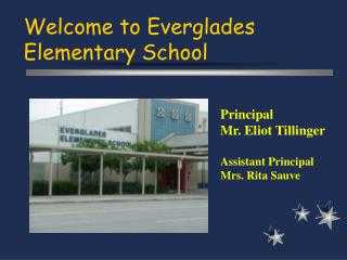 Welcome to Everglades Elementary School