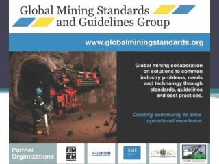 Mining Technology and Standards Forum Panel Discussion
