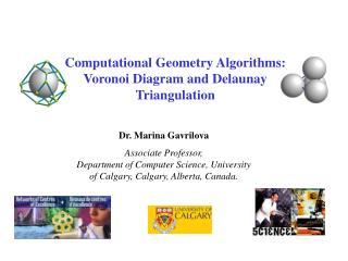 Dr. Marina Gavrilova