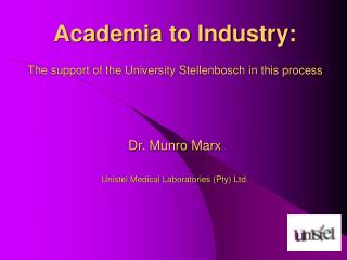 Interaction:  Academia and Industry