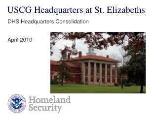 USCG Headquarters at St. Elizabeths