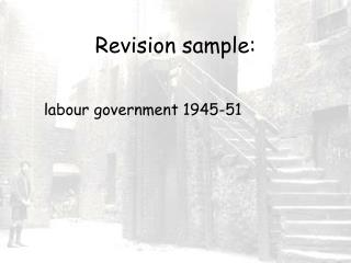 Revision sample: