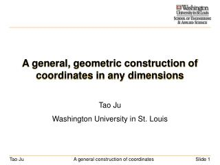 A general, geometric construction of coordinates in any dimensions