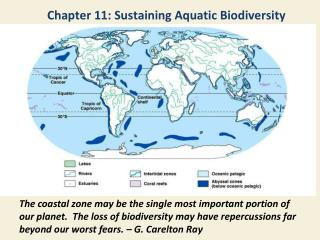 Chapter 11: Sustaining Aquatic Biodiversity