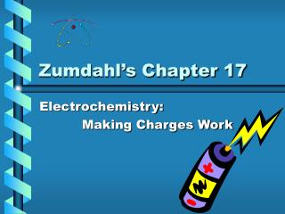 Zumdahl's Chapter 17