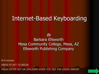 Internet-Based Keyboarding