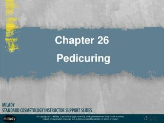 Chapter 26  Pedicuring