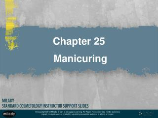 Chapter 25  Manicuring