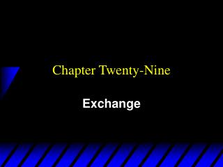 Chapter Twenty-Nine