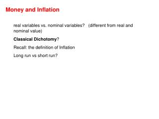real variables vs. nominal variables?   (different from real and nominal value)