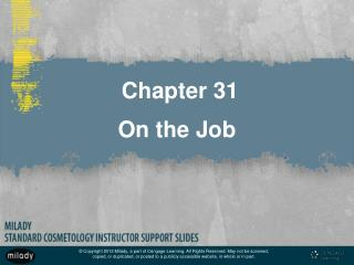 Chapter 31 On the Job