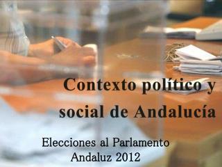Contexto en Andalucía