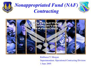 Nonappropriated Fund (NAF) Contracting