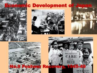 Economic Development of Japan