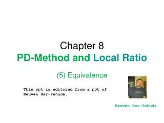 Chapter 8 PD-Method and Local Ratio