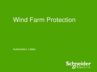 Wind Farm Protection