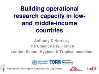 Building operational research capacity in low- and middle-income countries