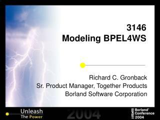 3146 Modeling BPEL4WS