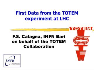 First Data from the TOTEM experiment at LHC