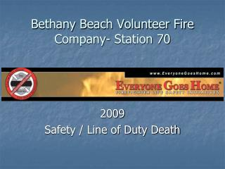 Bethany Beach Volunteer Fire Company- Station 70